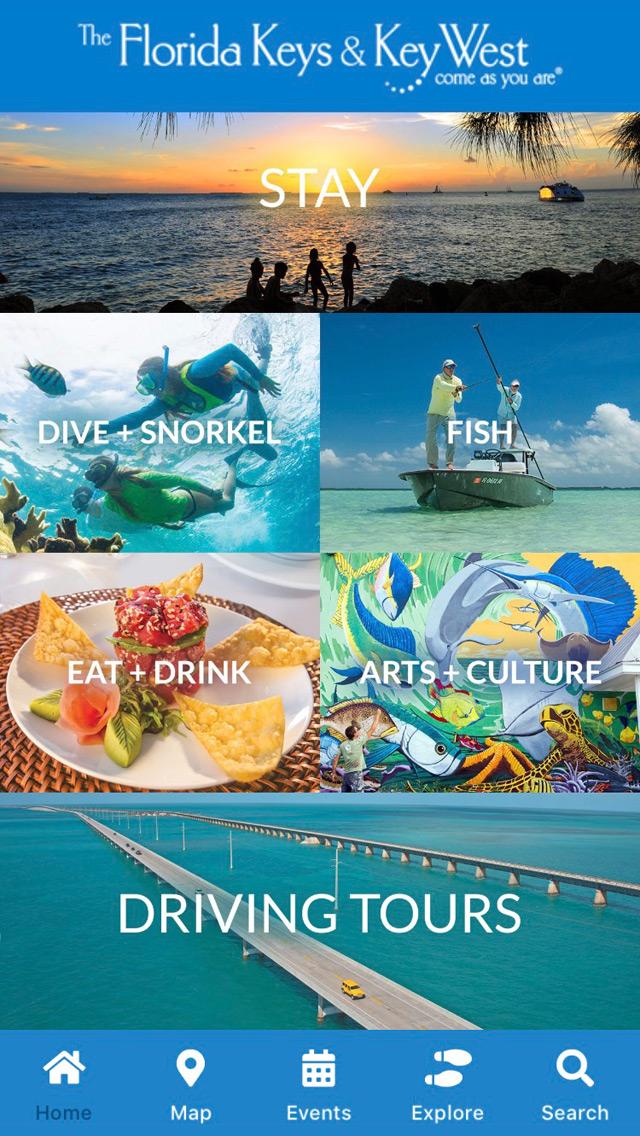 Florida Keys & Key West app screen 1