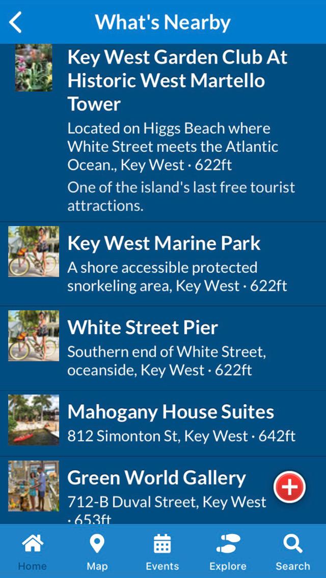 Florida Keys & Key West app screen 2