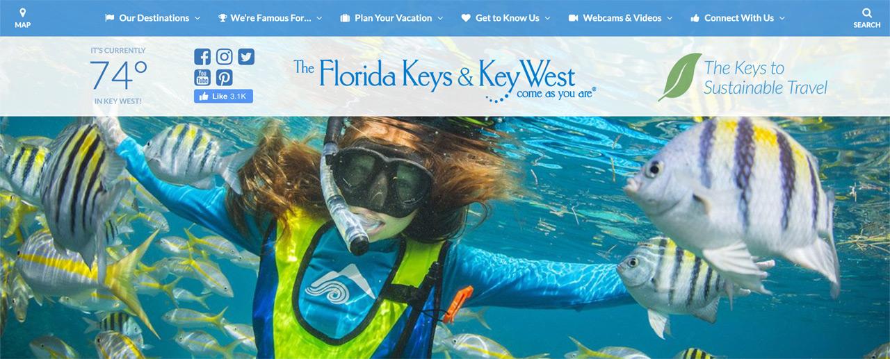 Fla-keys.com homepage